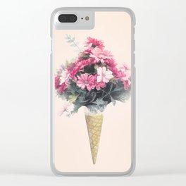 Flowers cornet Clear iPhone Case