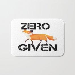 Zero Fox! Bath Mat