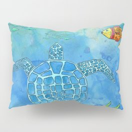Secret Turtle Pillow Sham