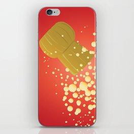Flying Cork iPhone Skin