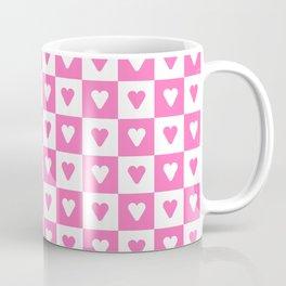 heart and love 16- pink Coffee Mug