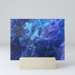 Purple Hurricane  Mini Art Print