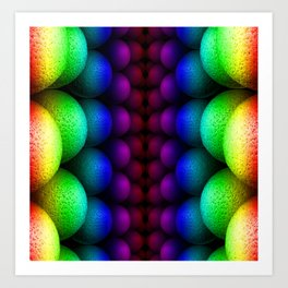 Bilateral Rainbow Art Print