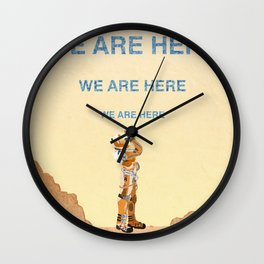 We Are Here-The Martian Wall Clock