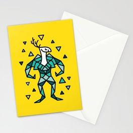 Deer Warrior Stationery Cards