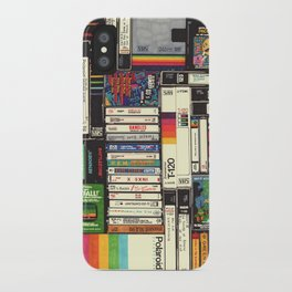Cassettes, VHS & Atari iPhone Case