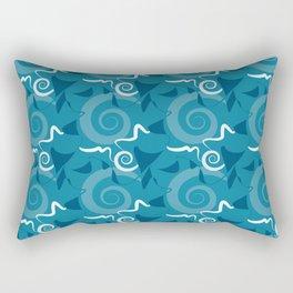 Festa - Blues Rectangular Pillow