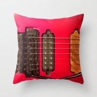 custom Throw Pillows featuring Custom Love by Gary Lee Hutchings