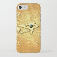 all seeing eye iPhone & iPod Cases featuring The all seeing eye by nicky2342