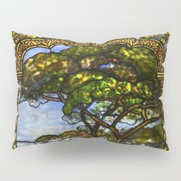 Louis Comfort Tiffany - Decorative stained glass 14. Pillow Sham