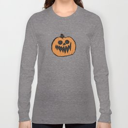 spoopy pumpkin Long Sleeve T-shirt