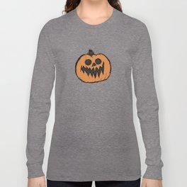 spoopy pumpkin Long Sleeve T-shirt