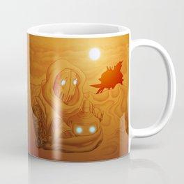 Primordia Horatio and Crispin walk in the sand Coffee Mug