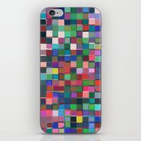stained glass iPhone & iPod Skins featuring stained glass by spinL