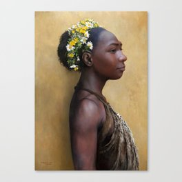 Hybrid Girl Canvas Print