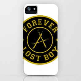 Lost Boy Badge iPhone Case
