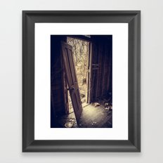 Front Door Framed Art Print