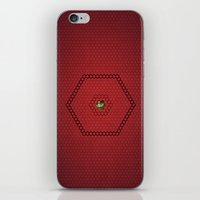 hexagon iPhone & iPod Skins featuring Hexagon by BoxEstudio