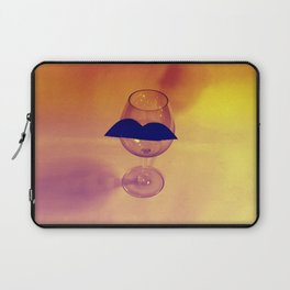Hipster Wine Glass Laptop Sleeve