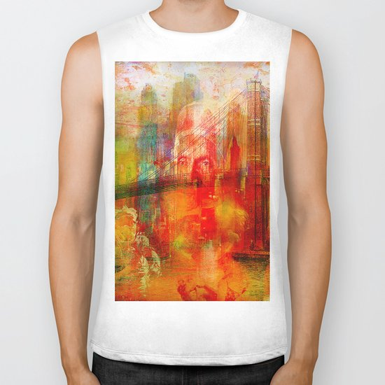 Memory of a dream of childhood Biker Tank