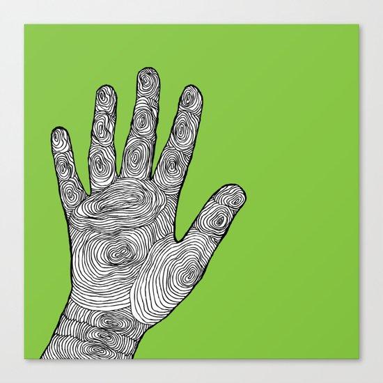 Handprint Canvas Print