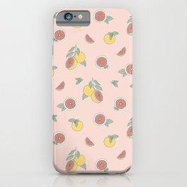 Summer Citrus iPhone Case