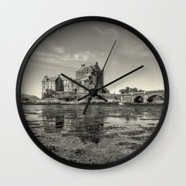 The Island Castle Wall Clock