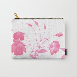 Pink Botanical Garden Carry-All Pouch