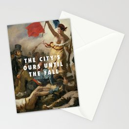 Eugène Delacroix, Liberty Leading the People (1830) / Halsey, New Americana (2015) Stationery Cards