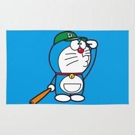 Doraemon baseball Rug