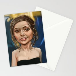 The Impossible Girl Stationery Cards