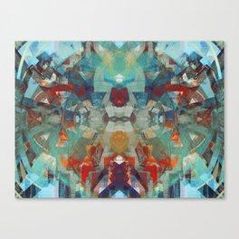 cosmic boombox funk god Canvas Print