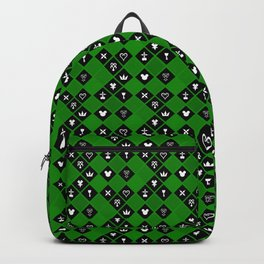 Kingdom Hearts III - Pattern - Green Backpack
