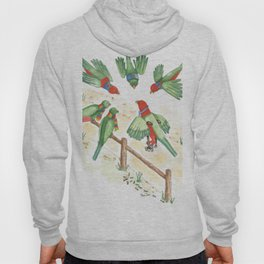 Birds of a Feather Flocking Together Hoody