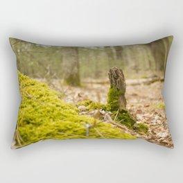 Mossy forest floor Rectangular Pillow