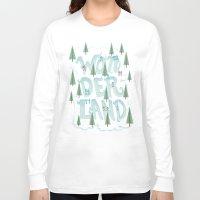 wonderland Long Sleeve T-shirts featuring Wonderland by Nick Volkert