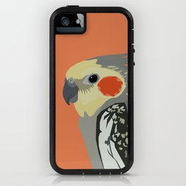 Marcus the cockatiel iPhone Case
