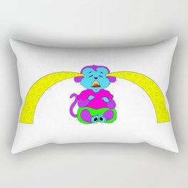 Monkey Crybaby (Yellow Tears) Rectangular Pillow