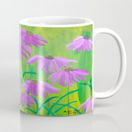 Purple Cone Flower (Echinacea) Coffee Mug