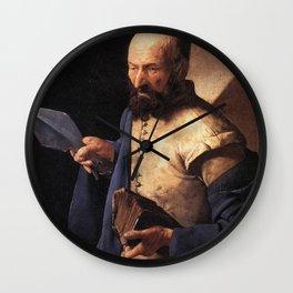 Georges de La Tour - St Thomas Wall Clock