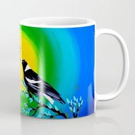 Sun and Birds Coffee Mug