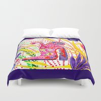 shoe Duvet Covers featuring My shoe! by ioannart