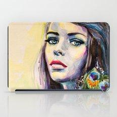 Peacock Girl iPad Case