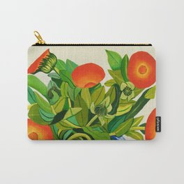 Marigolds Carry-All Pouch