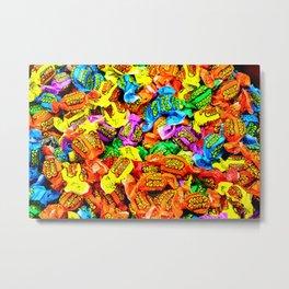 Candy Fix Metal Print