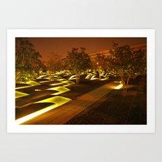 Where Light Has Gone to Rest Art Print