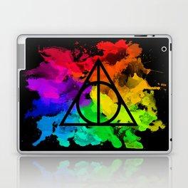 Rainbow Hallows  Laptop & iPad Skin