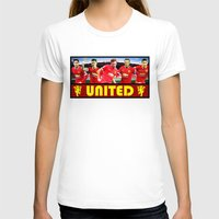 manchester T-shirts featuring Manchester Football Club by Sport_Designs