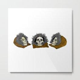 Hoods Metal Print