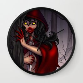 Crimson Dames - Orphan Wall Clock
